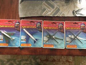 4x matchbox sky busters  SB-10/20/21 Mint OVP 1975-1978 excellend