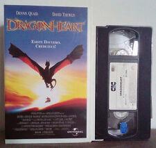 VHS FILM Cartoni Animati DRAGON HEART cic video UVS 70629 no dvd(VHS9)