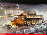 Airfix A02342 Tiger I Tank Model Kit (Scale 1:72)