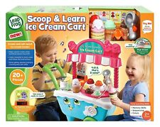 Leapfrog Scoop and Learn Ice Cream Cart 80-600703 **IN STOCK**