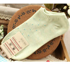 Women Girl Soft 1 Pair Casual Sports Cut Low High Dot Spot Socks Cotton Ankle