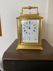 carriage clock  Grande Sonnerie