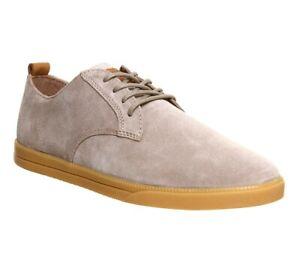 CLAE Ellington Suede Boulder Light Gum Sneaker Shoes Mens Casual Size 12 New ✅