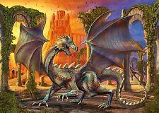 Schmidt At Dragon Castle by Cane Hoyer 1000 piece fantasy jigsaw puzzle 58156