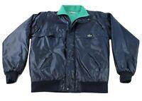 Vintage 90s Lacoste Puffer Jacket And Vest Blue Size Medium