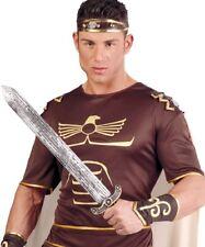 Hommes Romains Gladiateur Guerrier Soldat historique Jouet Costume Robe Fantaisie épée