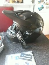 shark explore R adventure black  carbon helmet XL size dual sport, touring