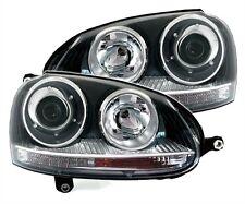 PHARES FEUX AVANT LOOK GTI NOIR VW VOLKSWAGEN GOLF 5 2.0 TDI 2.0 TFSI GTI R32
