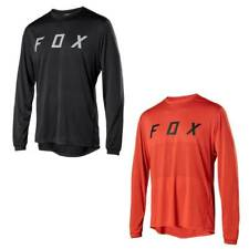 Mens Ranger LS FOX Jersey Long Sleeve Mountain Bike MTB Trail Bicycle Racing Top