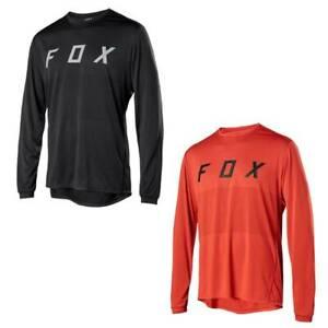 Mens Ranger LS FOX Jersey Long Sleeve Mountain Bike MTB Trail Bicycle Racing Top