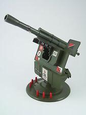 Vintage Cherilea Big 12 Series FIELD GUN ON TURNTABLE - Boxed, Complete