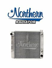 """Aluminum Radiator GM Chevy 26"""" X 19"""" W/ Transmission Oil Cooler Northern 209613"""