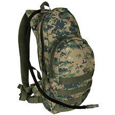 USMC Marines Woodland Camo Backpack Camelback Bladder Fits a tablet Molle Pack