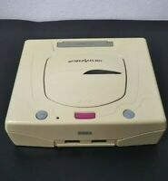 SEGA SATURN white Console only Working import from Japan SS080801