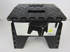 Premier negro plegable Escalón/taburete 2100016