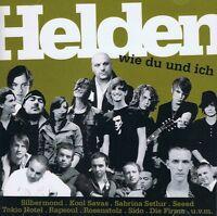 Helden Wie du und Ich - Clueso Seeed Silbermond Kool Savas Seeed - 2 CD NEU