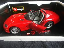 1992 Dodge Viper RT/10 - 1:18 scale die cast w/plastic parts