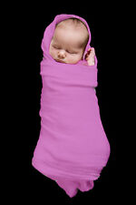 2 x MUSLIN  BABY  WRAPS    Extra Large,  Pink , NEW