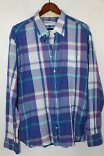 #51 Gant Rugger Cotton Sports Shirt Size XL  MADE IN INDIA