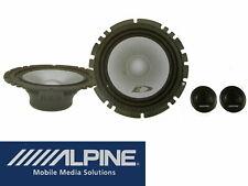 Alpine Lautsprecher Einbau Set BMW E46 3er Tür  2 Wege 16,5 cm Compo System
