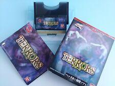 WonderSwan Terrors TERRORS WS Bandai Japan Game Used Tested Very good!