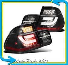 99 00 01 BMW E46 3-SERIES 323I 328I 4DR LED ALTEZZA REAR TAIL LIGHT BLACK +STRIP