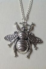 QUEEN BEE  Pendant on 925 Silver Chain