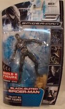 Hasbro Marvel Legends Spider-Man Black Suit Movie 3 Sandman BAF Series Build