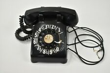 Vintage Rotary Telephone Black Stormberg Carlson Dial Phone