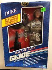 "12"" Hasbro GI Joe ""Duke"" Hall Of Fame Blonde Hair Military 1991 NRFB #c"