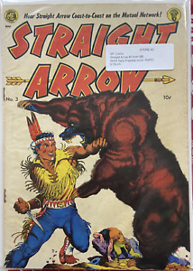 Straight Arrow Issue 3 Western Golden Age Comic JUNE 1950 Magazine Enterprises