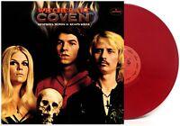 Coven - Witchcraft Destroys Minds and Reaps Souls Crimson Vinyl Record Album LP