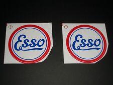 Esso Oil Drop Homme Autocollants Voiture Moto Racing Autocollant Vinyle Autocollants 50 mm x2