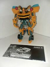 Transformers ROTF Battlefield Bumblebee - complete with instructions!