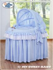 Stubenwagen mit Haube- Little Prince/Princess Farbe blau