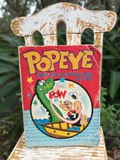 VINTAGE 1967 POPEYE BIG LITTLE BOOK GHOST SHIP TO TREASURE ISLAND 5755-1 FAIR