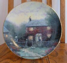 "Thomashire Series Thomas Kinkade ""Pye Corner Cottage"" Knowles Collector Plate"