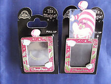 Disney * CHESHIRE CAT - Magic Slider * New on Card Character Trading Pin