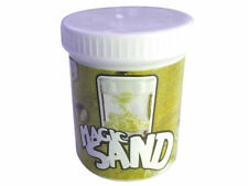 MAGIC SAND YELLOW 225 GRAMS TUB MOULD UNDER WATER REPELS WATER NOVELTY TOY KIDS
