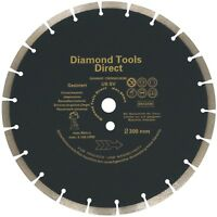 Diamante - Dischi Troncatrice 300 mm Universale Cemento Ussv Disco