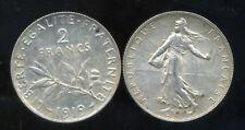 2 FRANCS  semeuse 1919    argent
