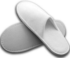 30 Pairs Spa Hotel Guest Slippers Closed Toe Toweling Disposable Terry Style New