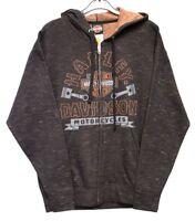 Harley Davidson® Men's Marbled Robin Hood Nottingham Dealer Hoodie Hoody New