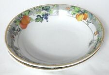 2 x Wedgwood Eden Cereal Bowls / Oatmeal Bowls - 6 1/4 inches