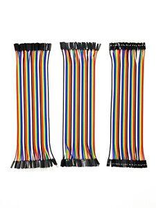 Jumper Wire Kabel Arduino Raspberry PI MM + MF + FF 10cm, 20cm, 30cm ✅