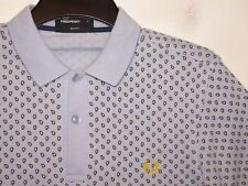 Fred Perry paisley print slim fit polo shirt t-shirt M2275 S small F51