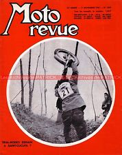 MOTO REVUE 1859 BULTACO 250 MK2 AERMACCHI HARLEY DAVIDSON Tourist Trophy 1967