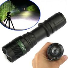 Tactical Police 90000Lumens High Power T6 Zoomable 18650 LED Flashlight Torch