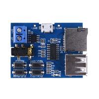 TF card U disk mp3 format decoder board module amplifier decoding audio playerPD