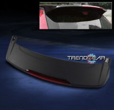 2007-2011 HONDA CRV CR-V SUV ABS BLACK REAR TRUNK LIP SPOILER W/LED BRAKE LIGHT